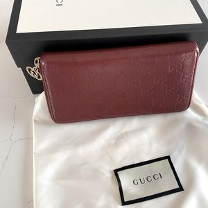 ♥️Preloved 💯Authentic Gucci Wallet
